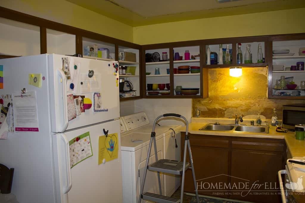 step 1 - remove cabinet doors
