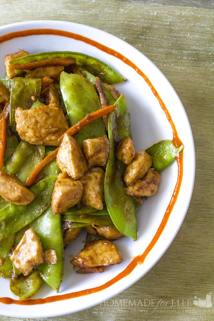 Velveted Chicken Stir-fry | homemadeforelle.com