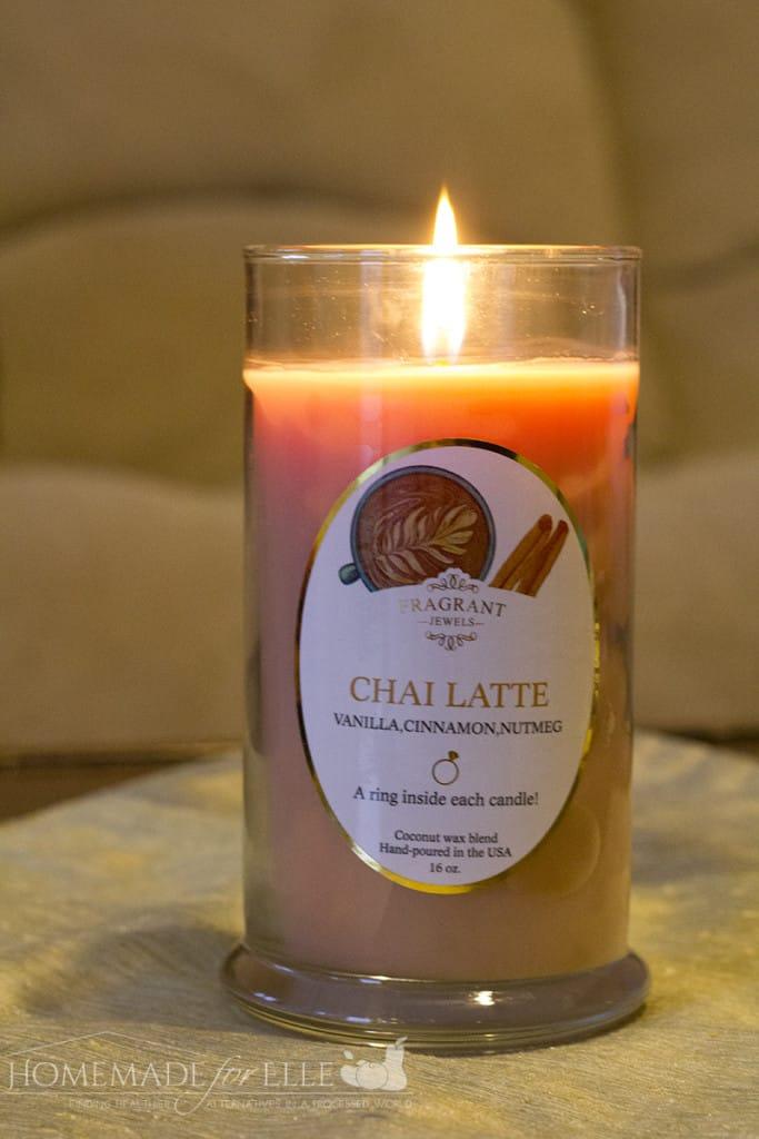 chai latte burning