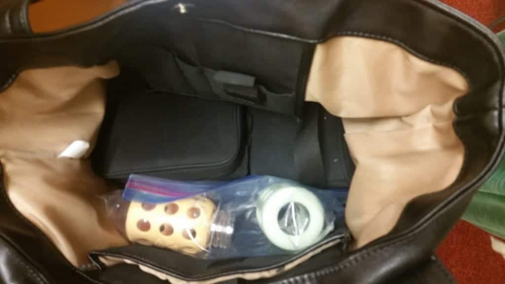 Breastpump bag | homemadeforelle.com