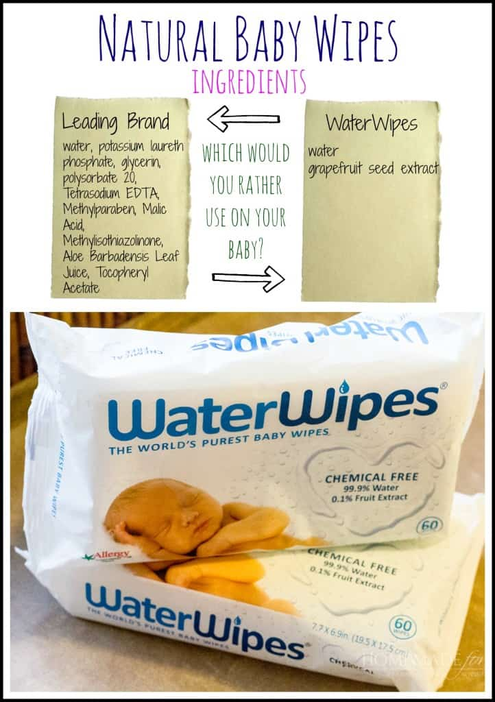 Natural Baby Wipes | homemadeforelle.com