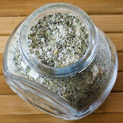 Rosemary and Garlic Herb Rub - Homemade Christmas Gifts in a Jar