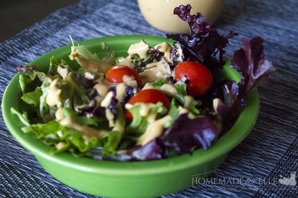 Tomato Basil Salad Dressing