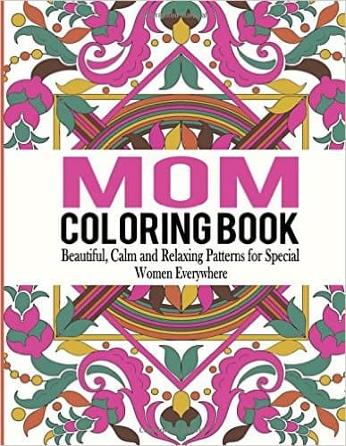 Best Gifts for New Moms Mom Coloring Book| homemadeforelle.com