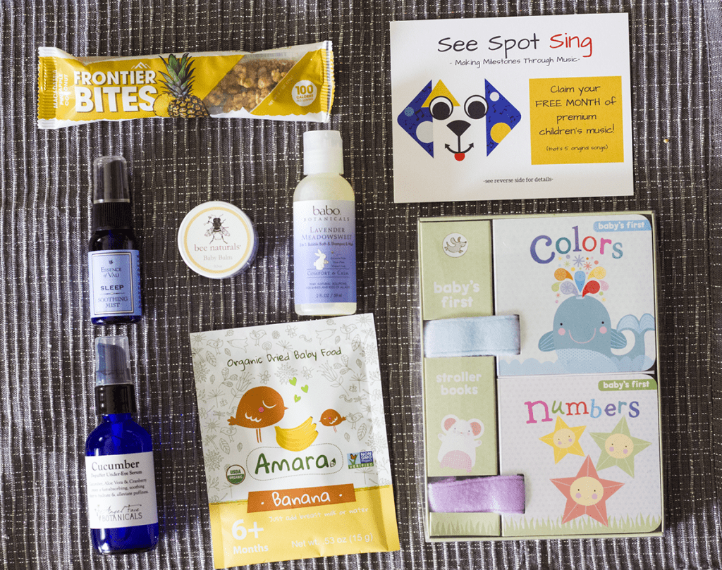 Monthly Baby Box | homemadeforelle.com