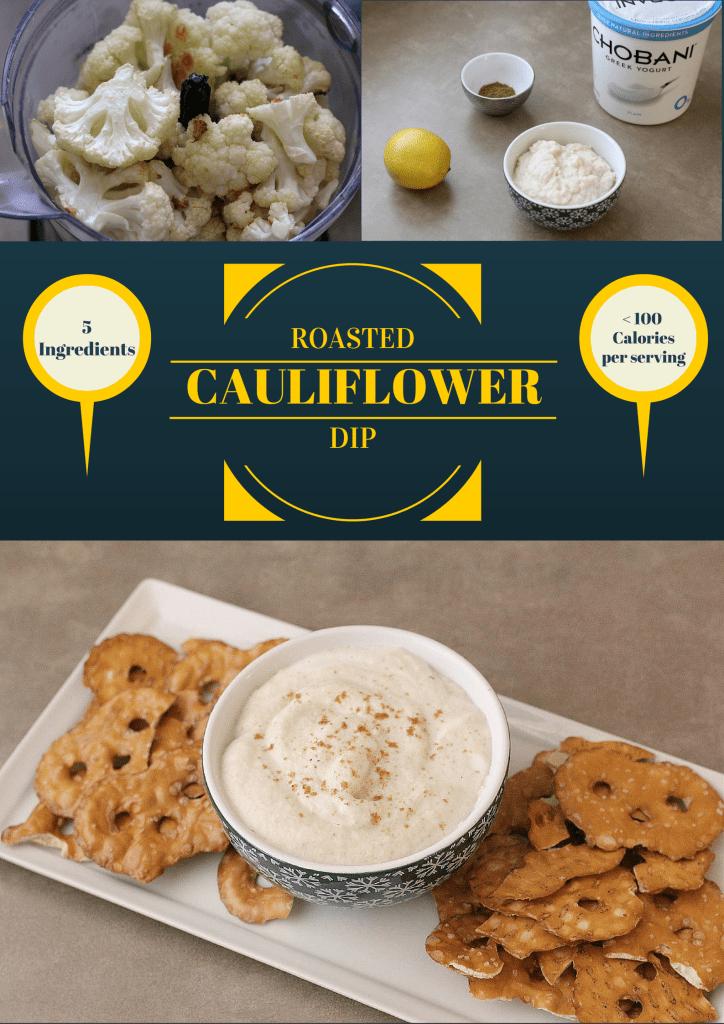Roasted Cauliflower Dip   homemadeforelle.com