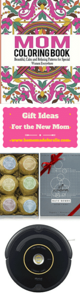 Best Gifts for New Moms | homemadeforelle.com