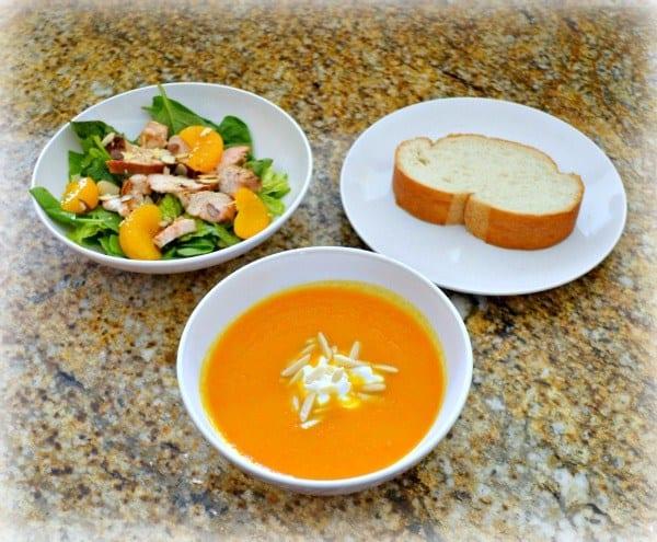 Ginger Carrot Soup - Clean Eating Soups   homemadeforelle.com