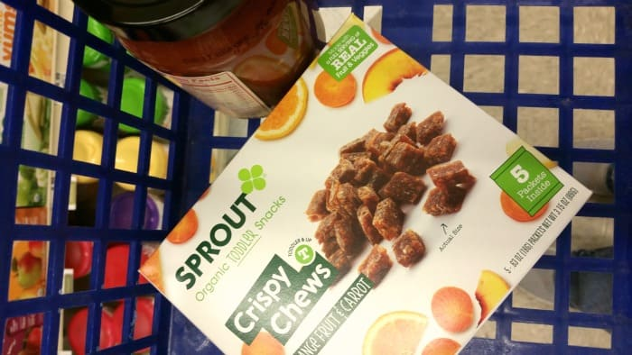 Organic Baby Food from Albertsons | homemadeforelle.com