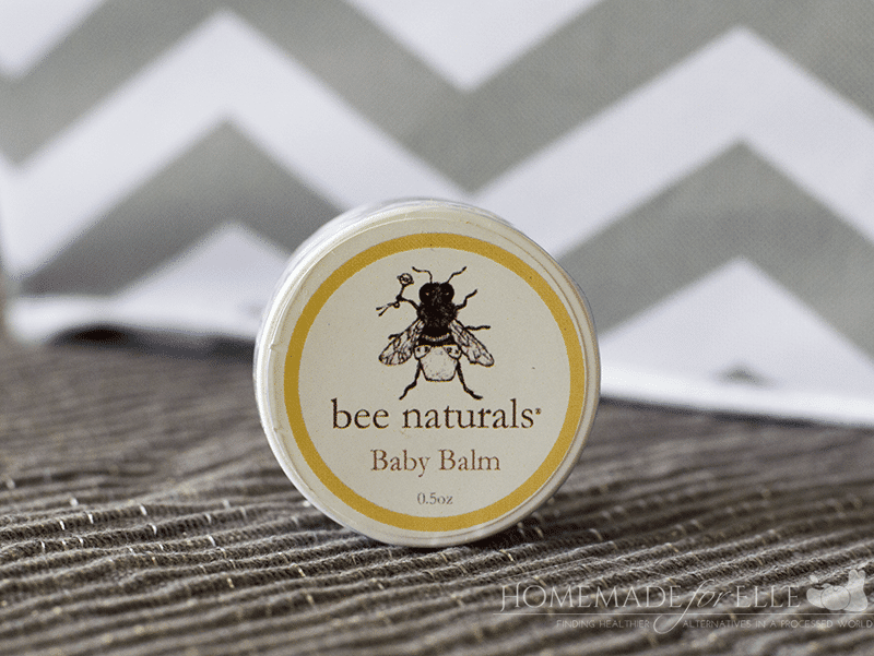 Monthly Baby Box - Bee Naturals Baby Balm | homemadeforelle.com