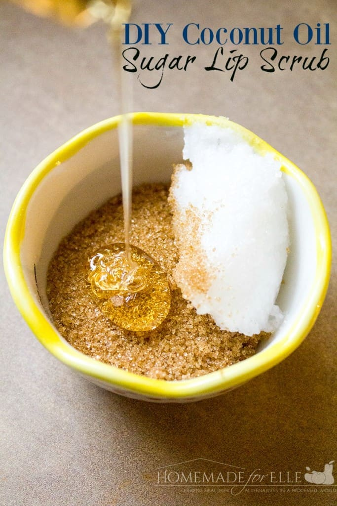 DIY Brown Sugar Lip Scrub | homemadeforelle.com