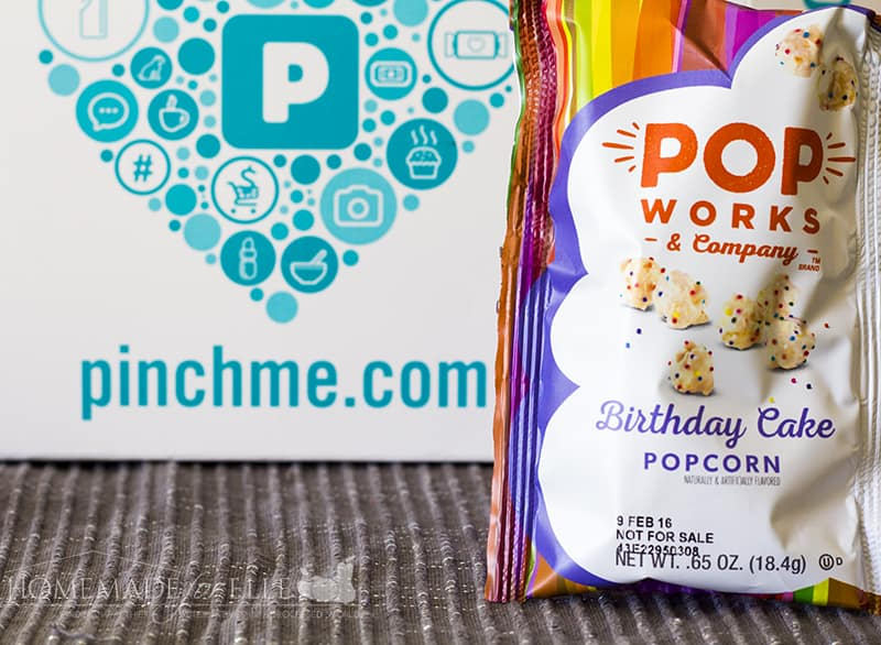 Free Product Sample Boxes - Pop Works Birthday Cake | homemadeforelle.com
