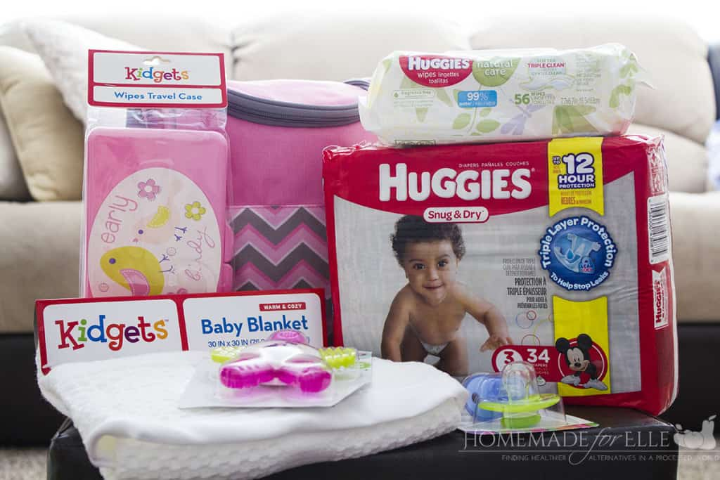 Diaper Bag Gift Set | homemadeforelle.com