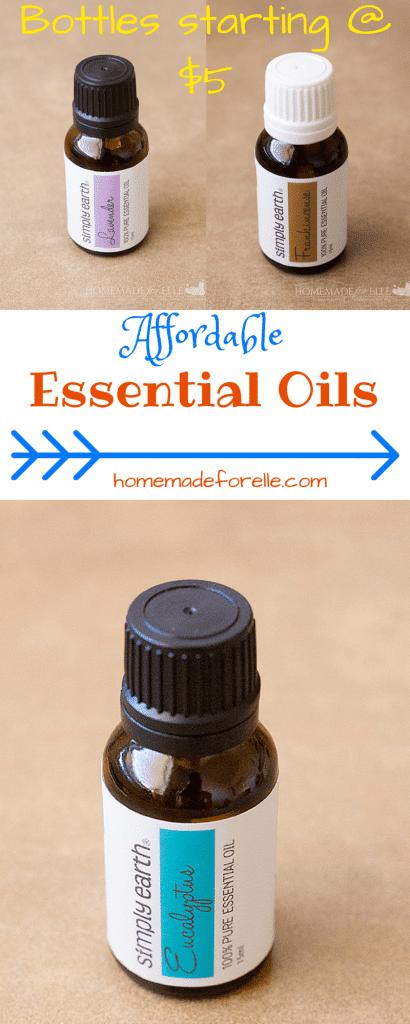 Affordable Essential Oils | homemadeforelle.com