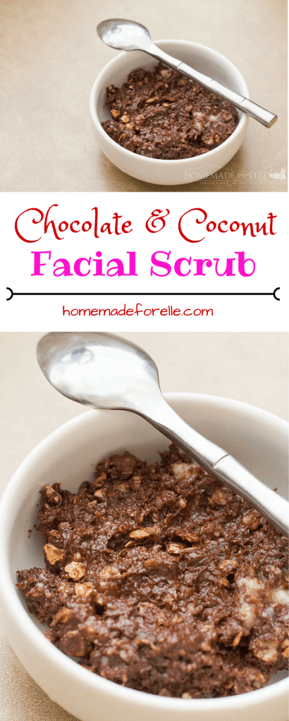 Chocolate Facial Scrub | homemadeforelle.com