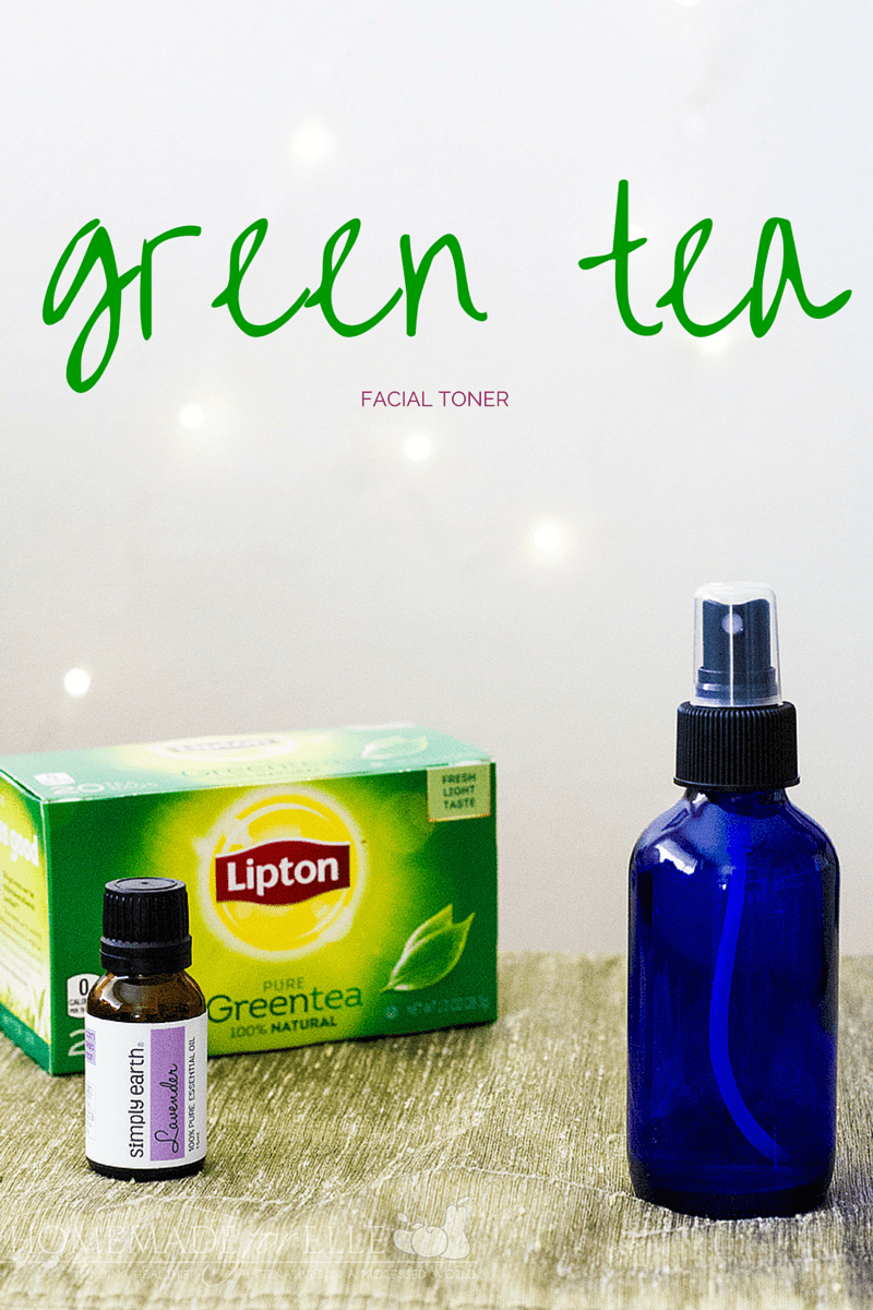 Homemade Green Tea Toner