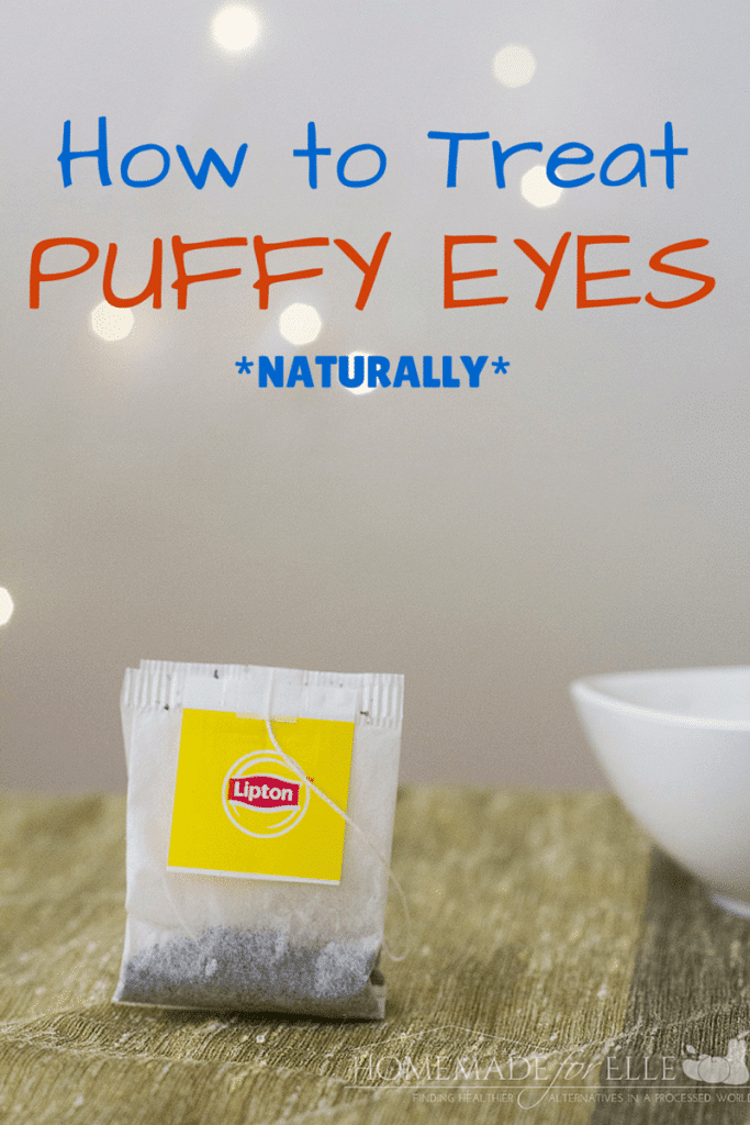 How to Treat Puffy Eyes Naturally with Tea Bags | homemadeforelle.com