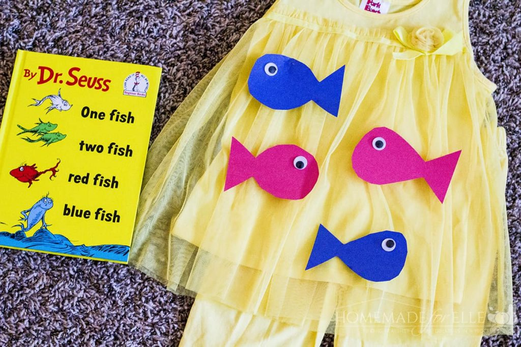One Fish Two Fish Costume | homemadeforelle.com
