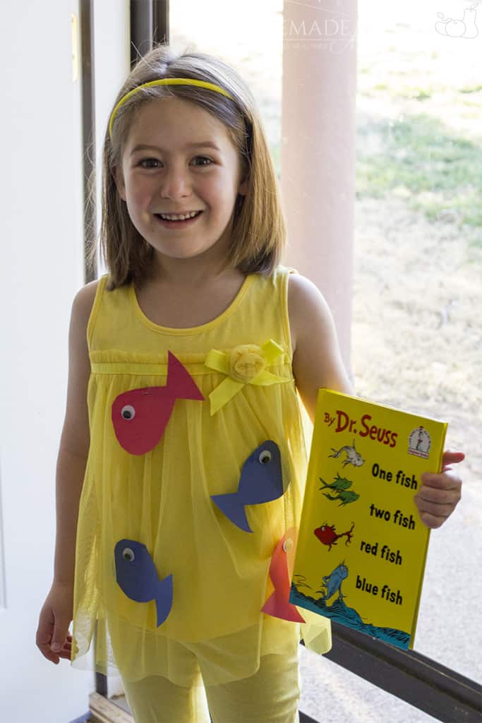 Diy Dr Seuss Costume Homemade For Elle