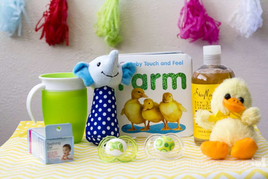 Baby Easter Basket Ideas | homemadeforelle.com