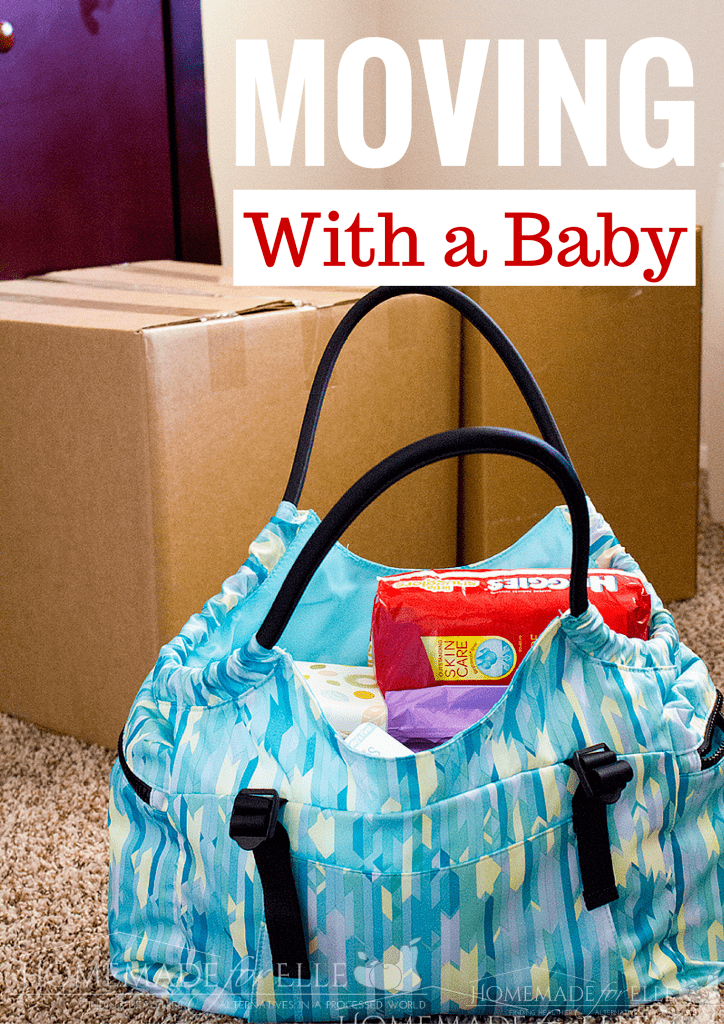 Moving with a Baby | homemadeforelle.com