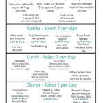 Clean Eating Menu Plan Week 3