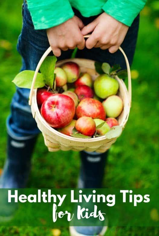Healthy Living Tips for children