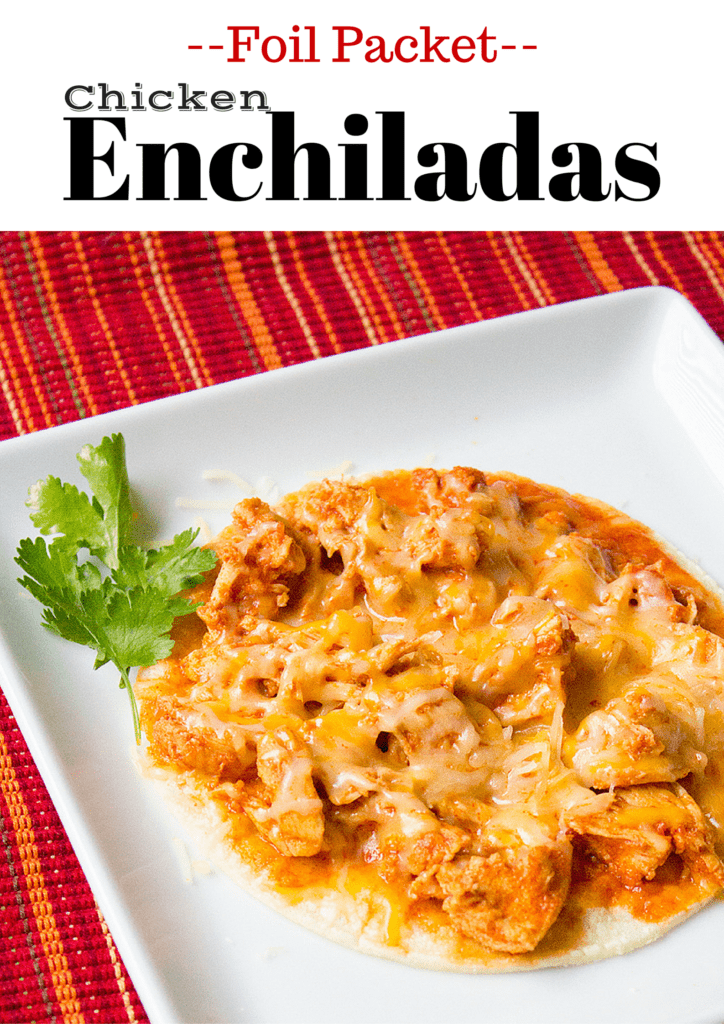 Enchilada Foil Packets | homemadeforelle.com