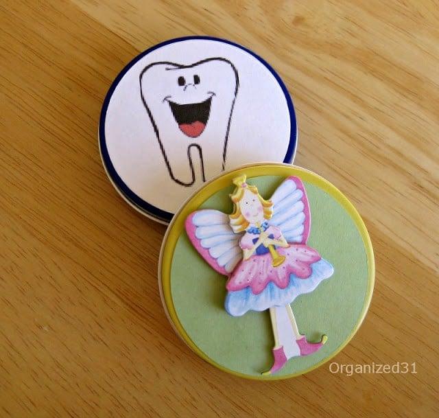 Tooth Fairy Tin | Organized 31