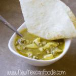 Homemade Chile Verde