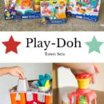play doh town sets