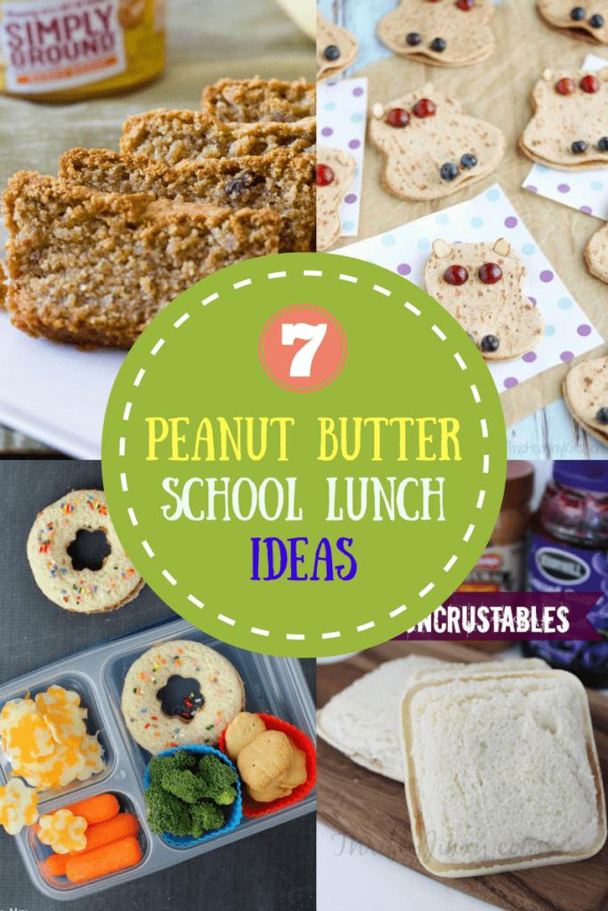 7 Peanut Butter School Lunch Ideas   homemadeforelle.com
