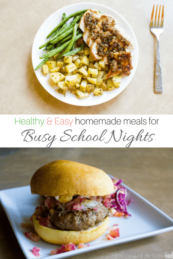 Healthy and easy homemade meals | homemadeforelle.com