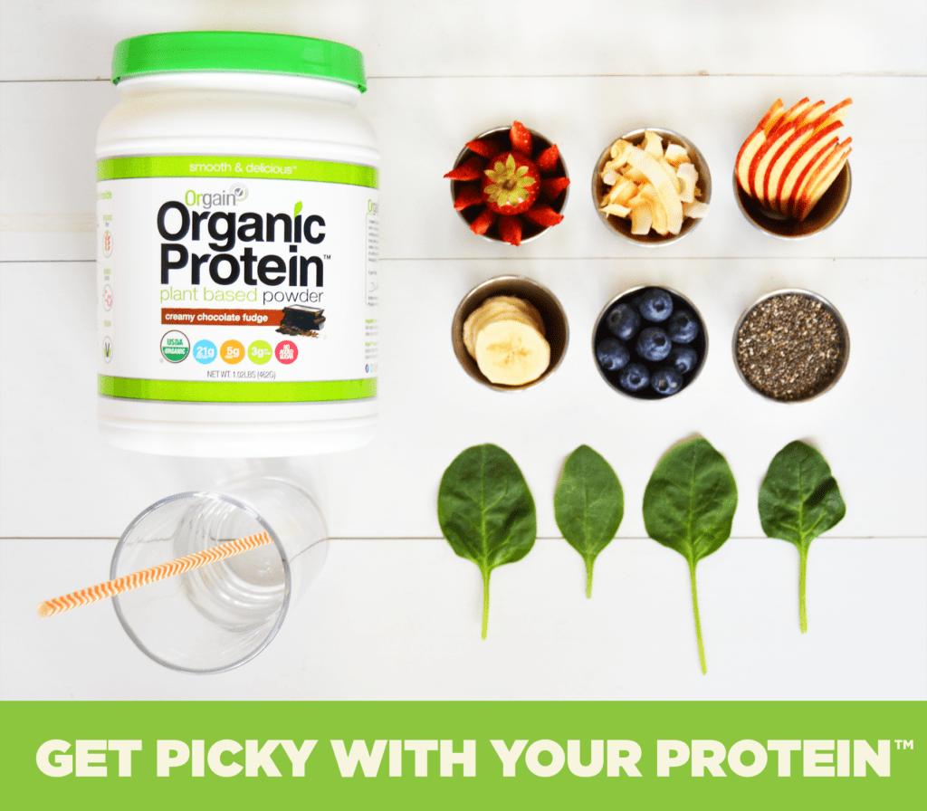 Organic Protein Shake | homemadeforelle.com