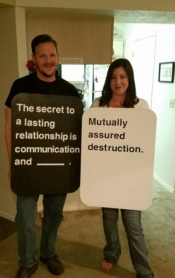 Cards Against Humanity Couples Costume
