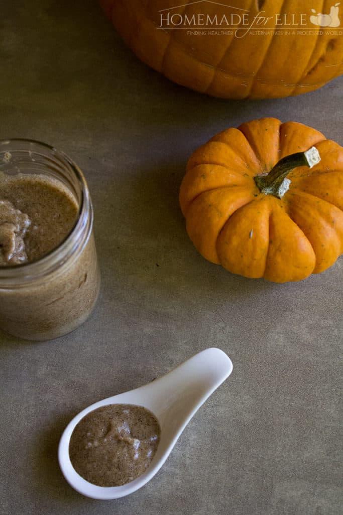 Pumpkin Sugar Scrub Recipe | homemadeforelle.com