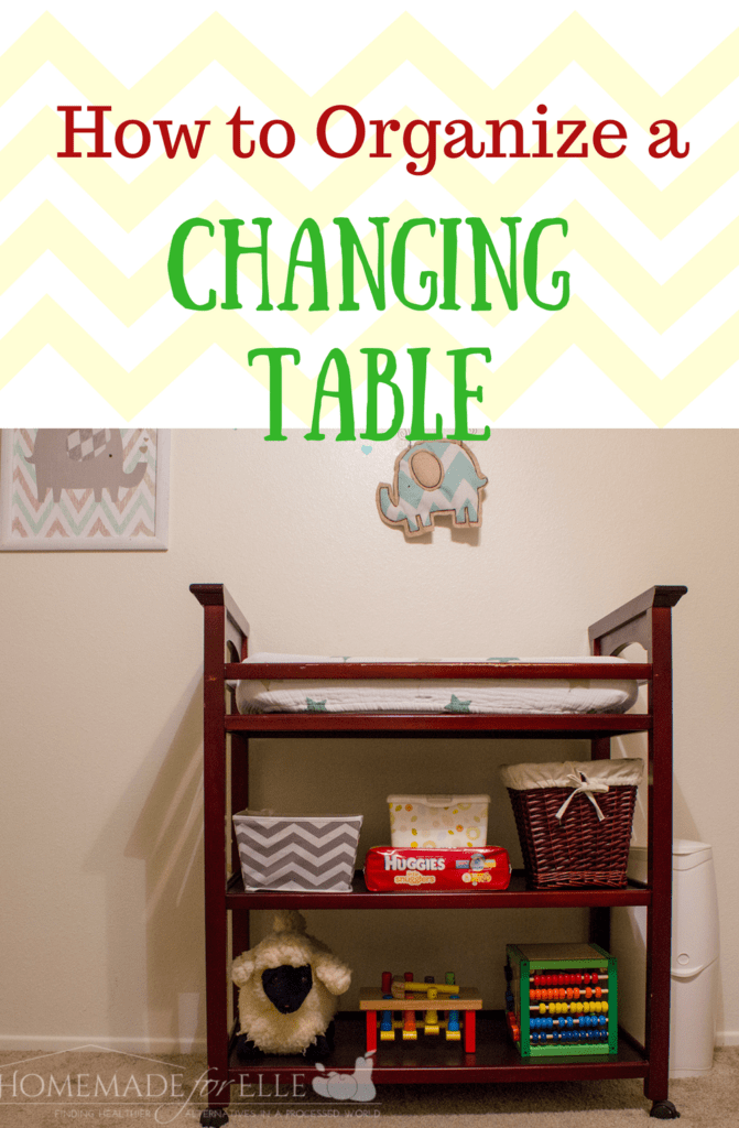 How to Organize a Changing Table