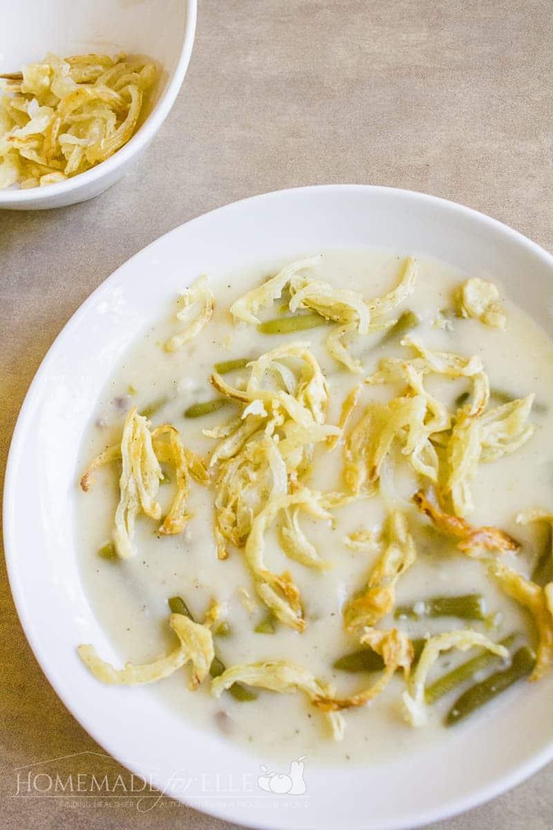 Green Bean Casserole Soup