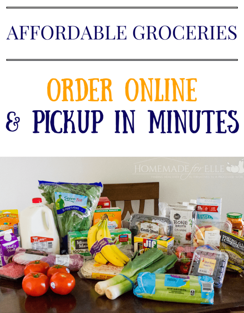 Order Groceries Online and Pick up for Free in Minutes with Walmart Grocery Pickup | homemadeforelle.com