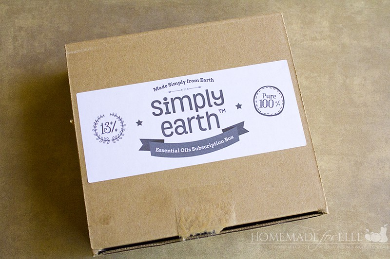 Simply Earth Easy Essential Oil Recipes Box | homemadeforelle.com