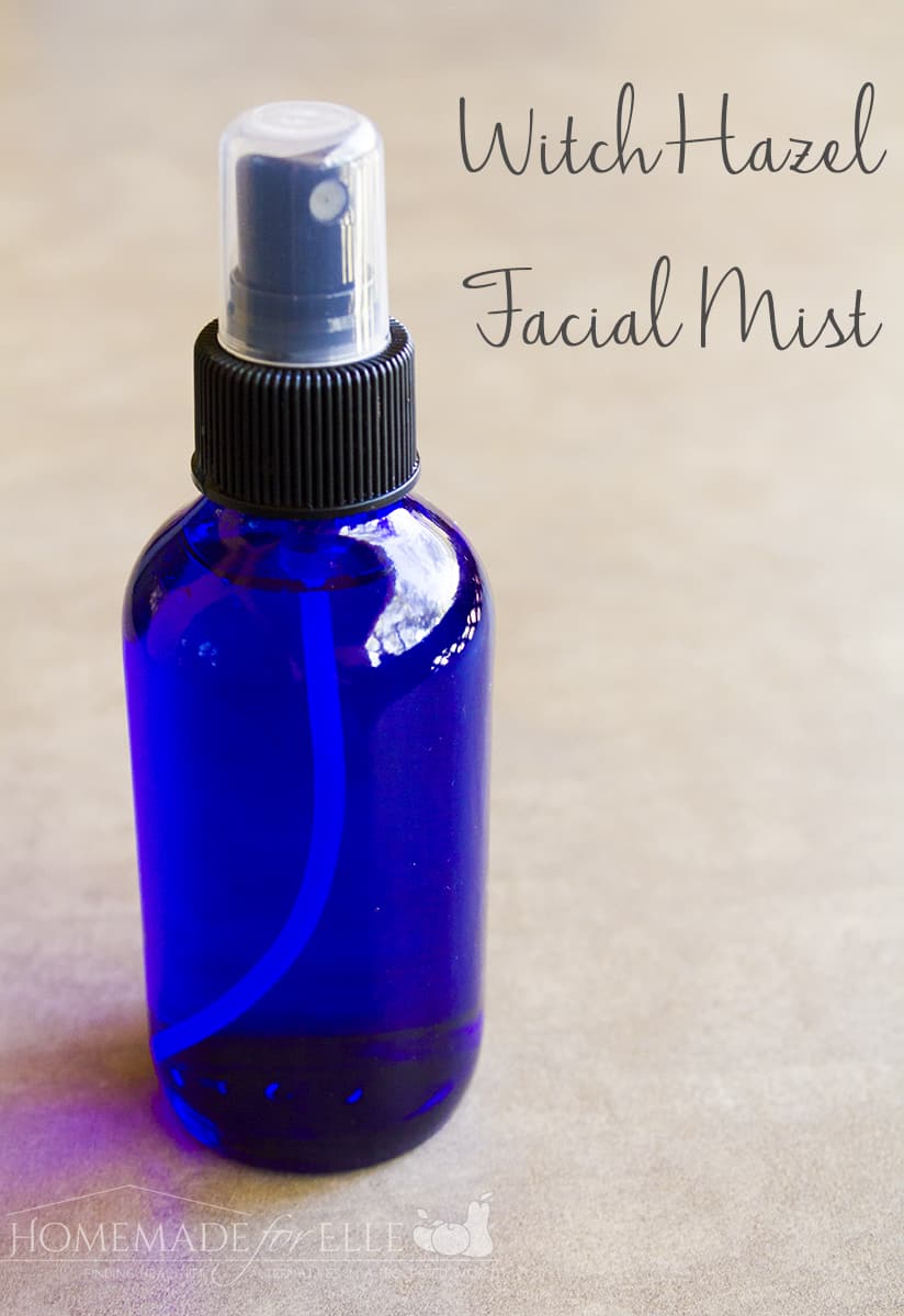 Witch Hazel Facial Mist for Acne | Homemadeforelle.com