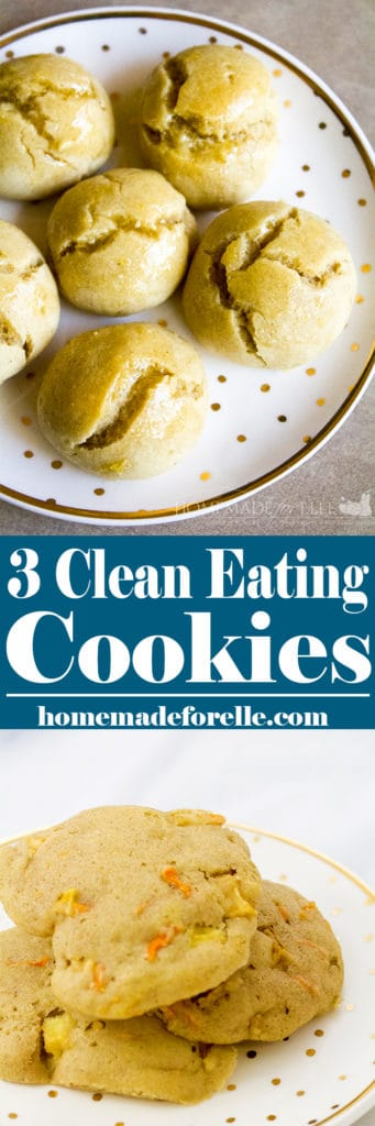 Clean Eating Cookie Recipes | homemadeforelle.com