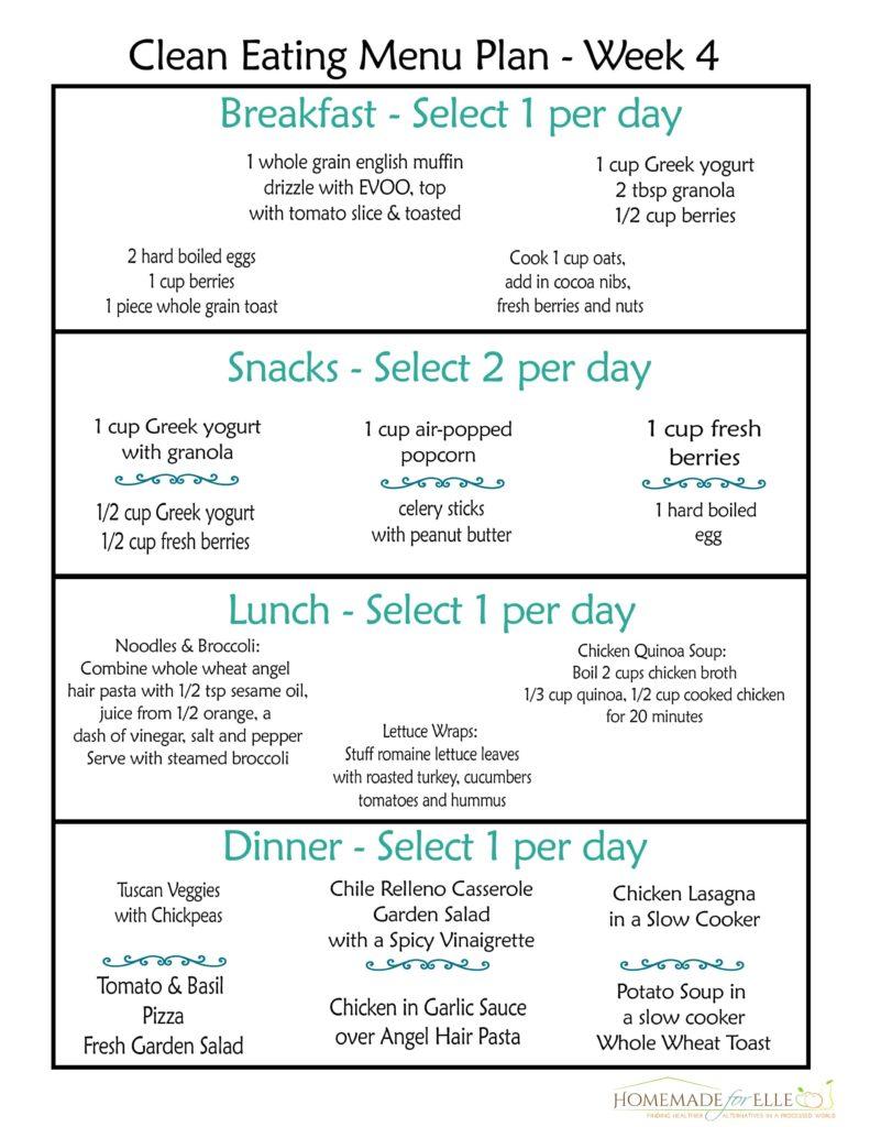 12 week diet plan free