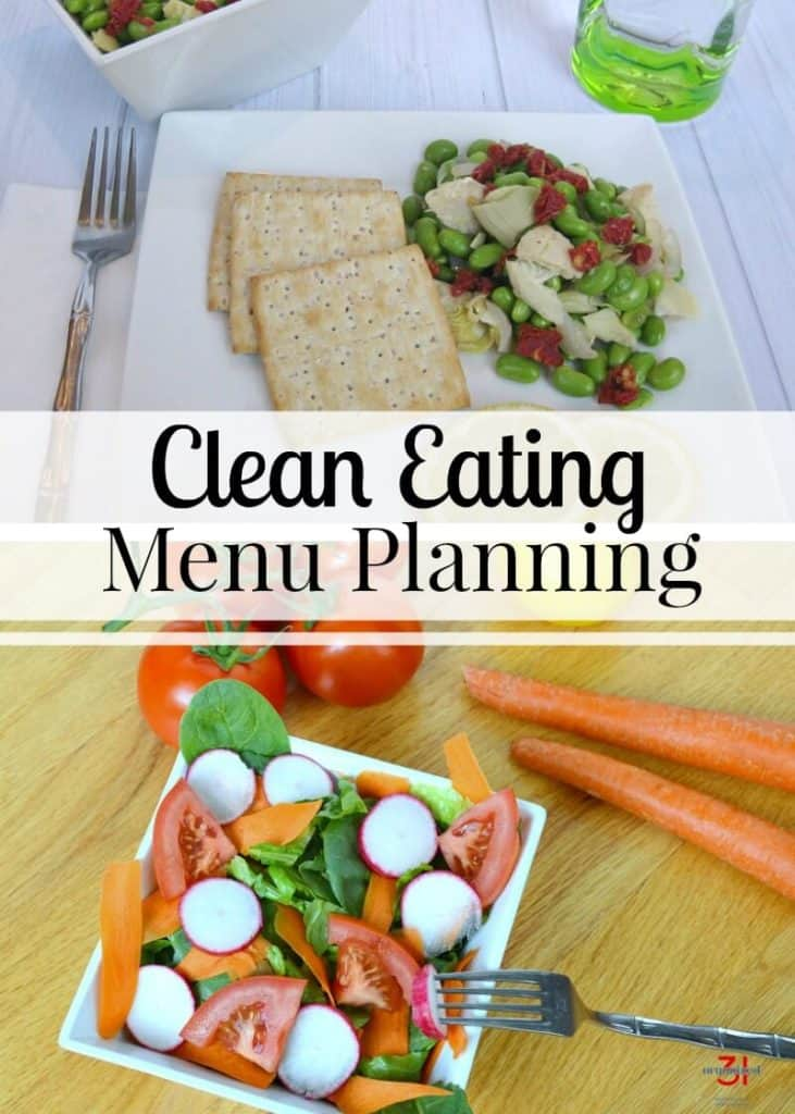 Clean Eating Menu Planning | organized31.com