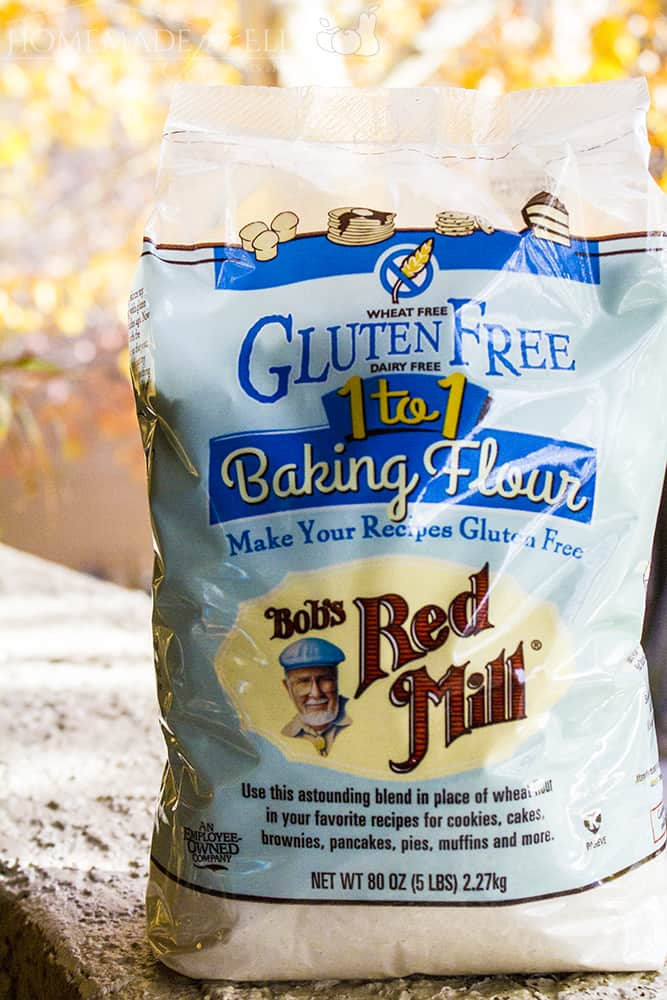 Bob's Red Mill Gluten Free 1 to 1 Baking Flour | homemadeforelle.com