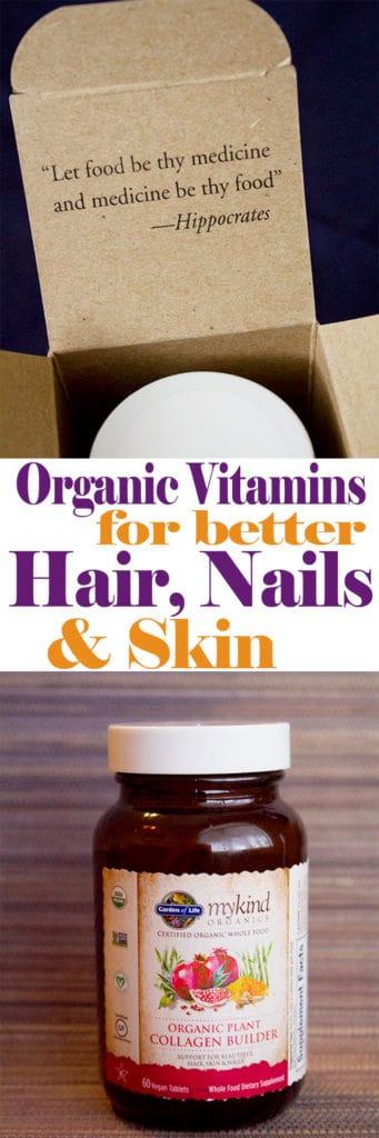 Organic Vitamins for Better Hair, Nails and Skin   homemadeforelle.com