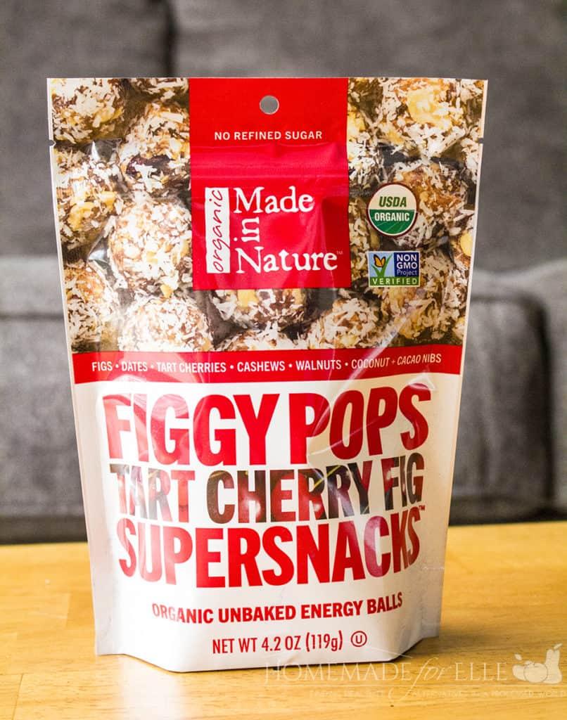Figgy Pops Tart Cherry Fig Supersnacks | healthy snacks, energy balls