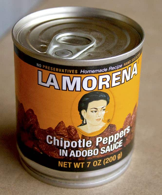 LA MORENA Chipolte Peppers in ADOBO Sauce | homemadeforelle.com