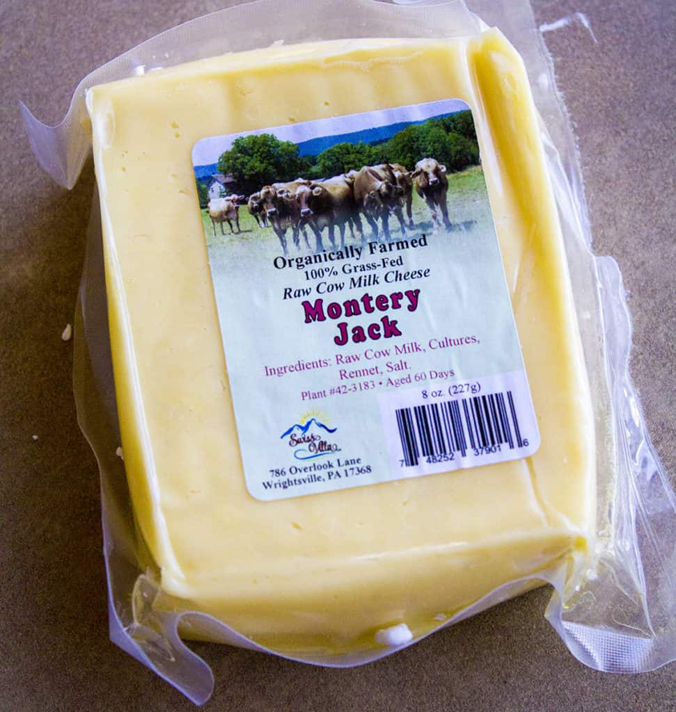 Organic Montery Jack Cheese