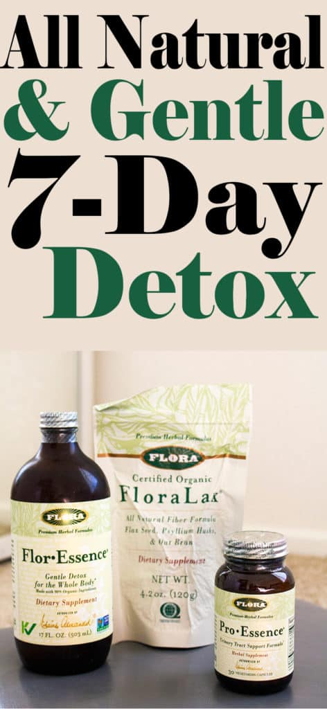 Natural and Gentle 7-Day Detox | homemadeforelle.com